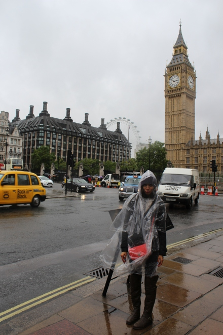 When sightseeing actually became a pain in London.